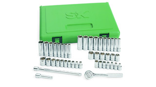 44 Piece 1/4 Drive 6-Point Socket Set, No. 91844