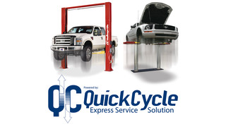 Quick Cycle vehicle lift technology