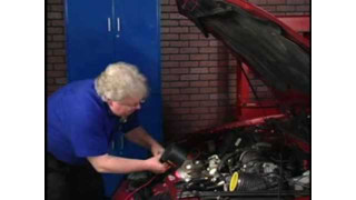 Smoke Wizard: Finding a vacuum leak video