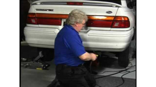 Smoke Wizard: Finding an exhaust leak video