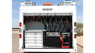 Factors to consider for hose reels on mobile service trucks