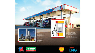 Shell and TA develop LNG fueling network