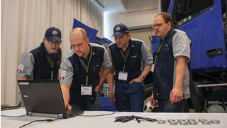 Competition showcases best Volvo trucks technicians