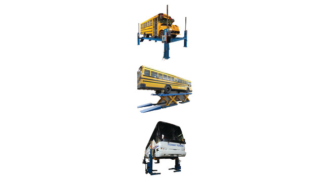 4-Post, Scissor and Mobile Column Lifts