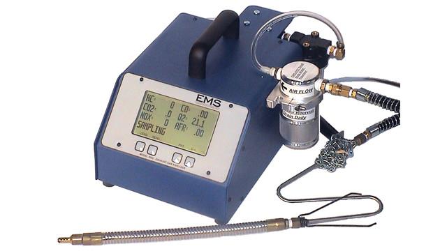 4/5 Gas Exhaust Analyzer, No. EMS 5002