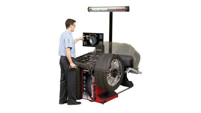 Road Force Touch wheel balancer