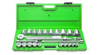25 Piece 3/4 Drive 12-Point Socket Set, No. 4725