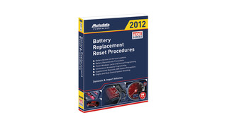 2012 Battery Replacement Reset Procedures Manual, No. 12-500