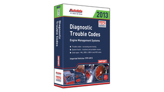 2013 Import Diagnostic Trouble Codes Manual, No. 13-350