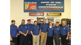 Federated Auto Parts names Weathers Motors as Shop of the Year