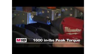 Milwaukee M18 FUEL 1/4 Hex Impact Driver Video