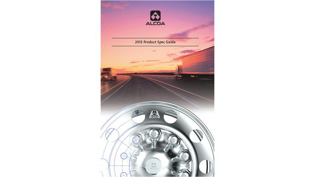 2013 Alcoa Commercial Vehicle Wheels Spec Data Guide Catalog