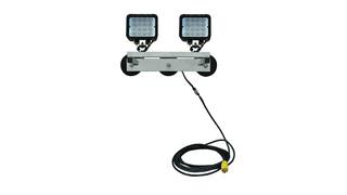 96 Watt LED Flood Light, No. WAL-M-2X48LED-120