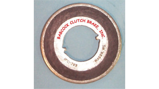 One Piece Clutch Brake