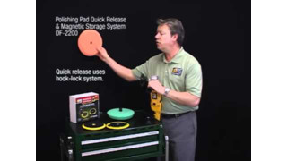 Dent Fix Polishing Pad Quick Release and Magnetic Storage System Video