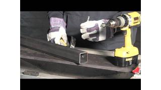 Blair Rotabroach Sheet Metal Hole Cutters Video