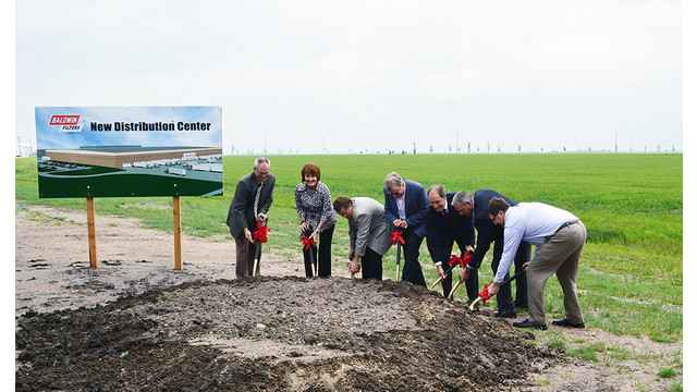 Baldwin Filters breaks ground on expansion