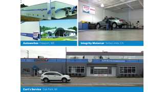 Three shops win 'Best of Bosch' car service contest