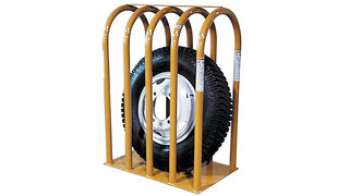 2 to 7-bar tire inflation restraining devices