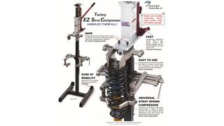 Techny EZ Strut Spring Compressor
