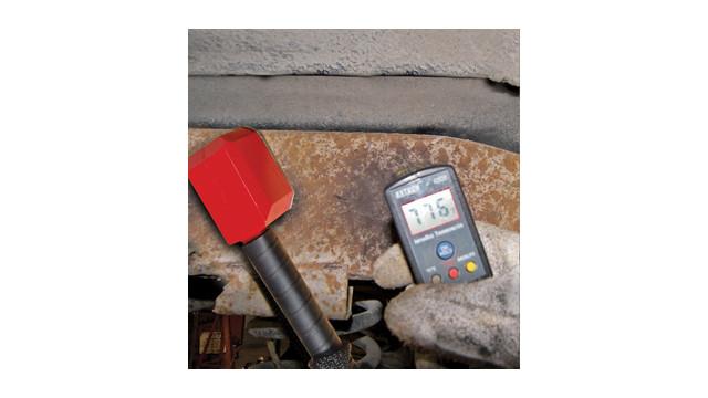 Optional Rosebud® attachement heating a frame rail FAST!