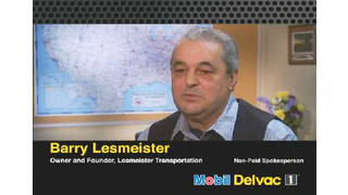 Lesmeister Transportation recommends Mobil Delvac for fleets