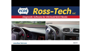 VW ABS diagnostics with Ross Tech VCDS video