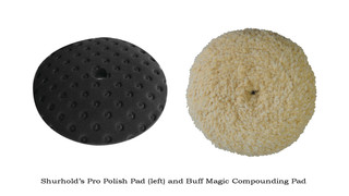 Magic Wool Polisher Pad and Hand Pad
