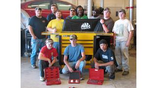 MAC Tools donates $10,000 in tools to collision school programs