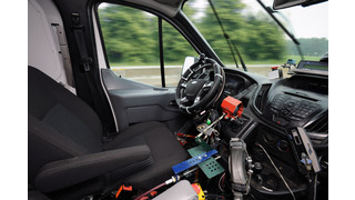 Ford uses robots to test drive trucks