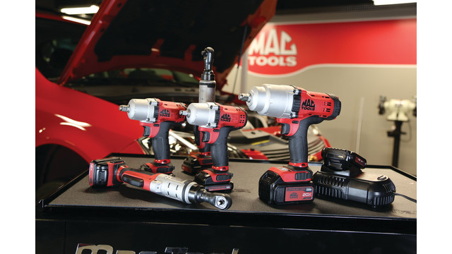 Line of Cordless Tools