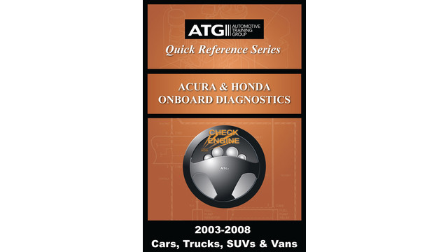Acura and Honda OBDII Trouble Code Quick-Reference Guide