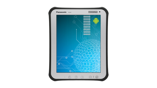 """Toughpad FZ-A1 10"""" Android Tablet"""