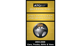 Lexus, Toyota and Scion OBDII Trouble Code Quick-Reference Guide