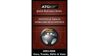 Infiniti and Nissan OBDII Trouble Code Quick-Reference Guide