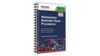2013 Maintenance Reminder Reset Procedures, No. 13-450