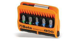 860MIX/A10 Set of 10 magnetic bits