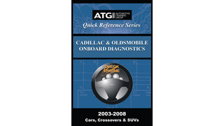 Cadillac and Oldsmobile OBDII Trouble Code Quick-Reference Guide