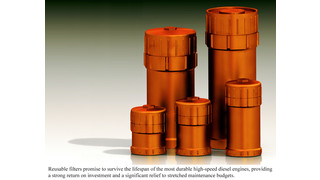 Reusable filters: Another way truck fleets can lower maintenance costs
