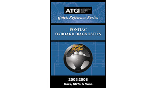 Pontiac OBDII Trouble Code Quick-Reference Guide