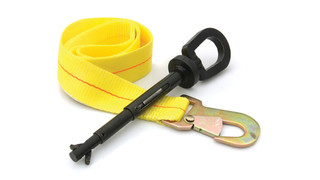 I-Bolt universal tow eye with safety strap, No. 71490