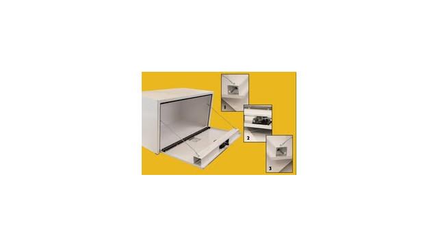 Three-Point Latch Underbody Toolbox