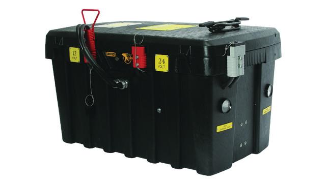 Solar Fixed Mount Box 12/24V Jump Starter, No. FMB1224