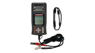Associated Equipment: Digital Battery Electrical System Analyzer/Tester