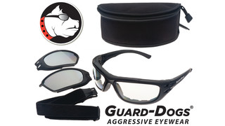 Encon Guard-Dog G100 Convertible Eyewear and Goggle Kit