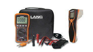 Lang Tools: CAT IV Digital Multimeter and Infrared Thermometer