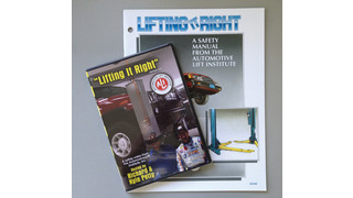 Tech Tip: Lifting It Right steps for raising a vehicle for service