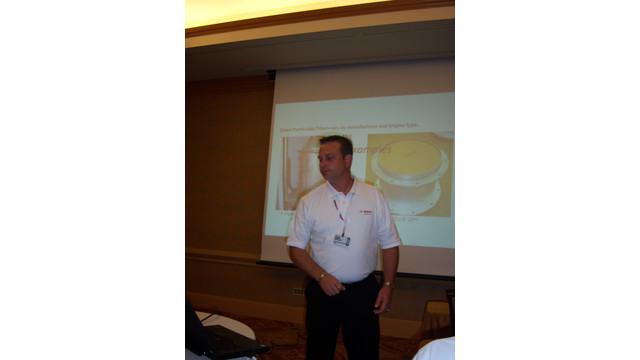 Bosch Automotive educates ISN attendees about heavy duty diagnostics