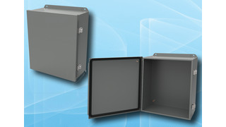 HJ H Series Hinged Cover Metal Enclosures