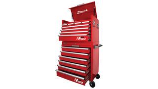 Homak: 36 H2PRO 2-piece combo toolbox